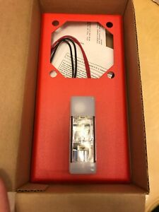 Wheelock Strobe Red 117cd model Vlpm 24 w vf r