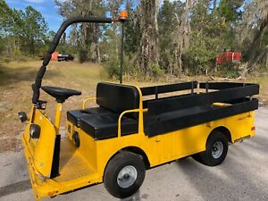 Taylor Dunn B248 Utility Cart Electric Stock Chaser Warehouse Truck