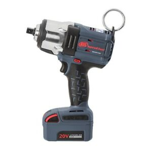 Ingersoll Rand W7152 K12 1 2 Drive Iqv20 Hd Impact Wrench One Battery Kit