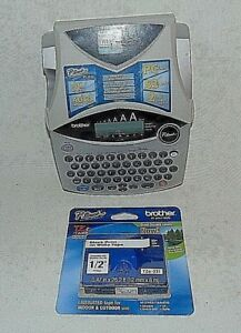 Brother Ptouch Label Maker Pt 1950 Plus Tape Batteries Not Included