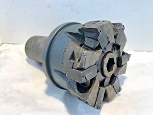 Greanleaf 4 Face Mill Cutter 6 Flute 1 1 2 Shank Machinist Tool Free Ship