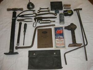 Original Model A Ford Tool Kit 1928 1929 1930 1931 Complete Correct Accessories