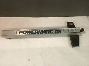 Powermatic Table Saw Fence Guide Vega System