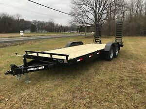 Brand New 82 X 20 12k Gvwr Heavy Equipment Trailer 2022 Year