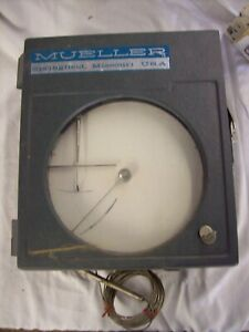 Mueller T1300 Chart Recorder Barely Used