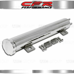 13 X 2 Stainless Steel Radiator Overflow Tank Fits Universal Chevy Ford Mopar