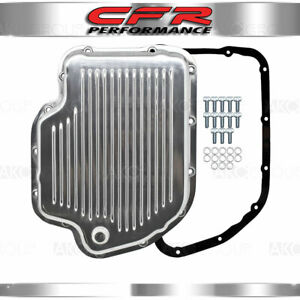 Fits Chevy Gm Turbo 400 Th400 Aluminum Transmission Pan Kit Polished