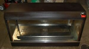 Vollrath Cayenne 47 Warming Heated Lighted Hot Food Display Show Case 120v