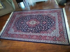 Vintage Chinese Persian Design Floral Rug 5 9 X 8 9 No Stains Beautiful