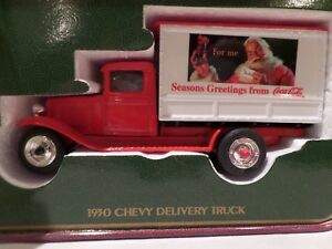 COCA-COLA 1930 CHEVY DELIVERY TOY TRUCK (1994)