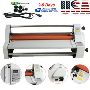 Electronic 450mm Single dual Sided Hot And Cold Roll Laminating Machine Easy