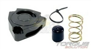 Torque Solution Blow Off Bov Sound Plate black For Hyundai Veloster Turbo