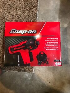 Snap On 14 4v Microlithium Micro Lithium Cordless Screwdriver Kit Cts761a New