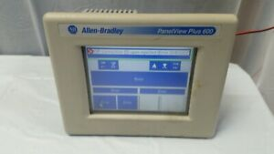 Allen Bradley Panelview Plus Compact 600 2711pc t6c20d Ser C Tested Good Cond