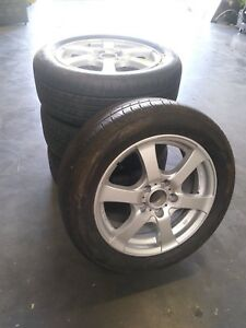 4 Msw By Oz Wheels For Mercedes With Tires