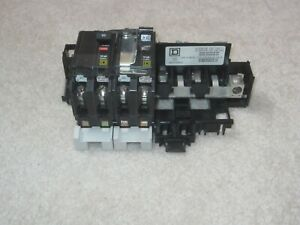Square D 60a Transfer Switch Utility Generator Circuit Breaker 60 Amp Box Panel