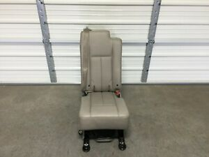 2003 2017 Navigator Ford Expedition Second 2nd Middle Jump Seat Stone Leather