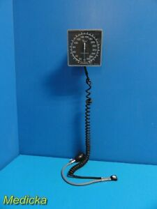 Tycos Welch Allyn Aneroid Jewel Movement Sphygmomanometer W Coil