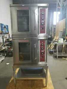 Blodgett Ctb 1 Half Size Electric Convection Oven 220 240 V Double With Stand