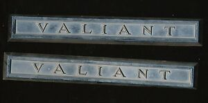 31 Vintage Plymouth Valiant Car Fender Emblems 11 Long Aakh 2242119
