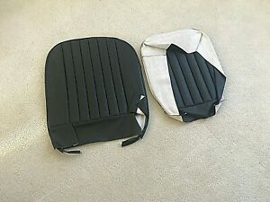 Mga Roadster And Coupe Black Seat Covers For The Seat Back And Seat Cushions