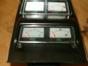 68 Camaro Console Gauge Cluster Preowned Free Shipping