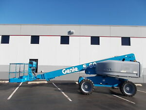 Factory Reconditioned Genie S 60 Boom Lift Man Lift Aerial Lift Boom Manlift