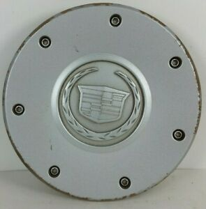 2003 2004 Cadillac Cts Wheel Center Cap Oem 9594176 Silver