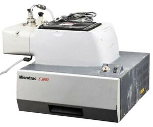 Microtrac M3001 bw a00000 dfp S3000 Laser Diffraction Particle Size Analyzer