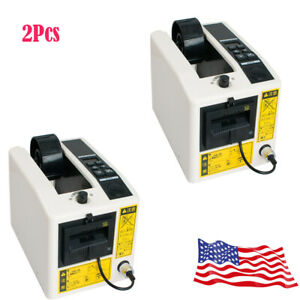 Usa 2 tape Cutter Machine Automatic Tape Adhesive Dispensers Packaging Dispenser