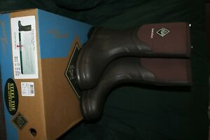 Muck Boots Steel Toe Mens 11 Chore Cool Safety Toe Csct stl brown