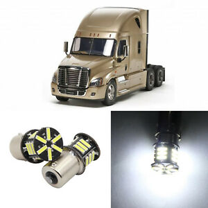 2x 1156 1109 Interior Led Light Bulb For Freightliner Cascadia Sleeper Cab Truck