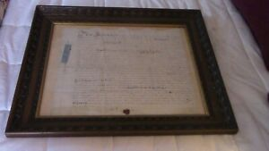Antique Indenture May 4 1724 From Ireland Great Britain