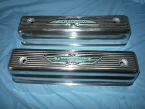 1955 57 Ford t bird Mercury New Valve Covers Y block 312 292 272 Excellent