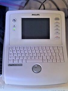 The Philips Pagewriter Trim Iii Ekg Machine With Box Case free Shipping
