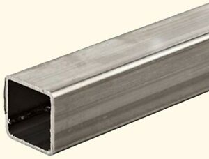 Stainless Steel Hollow Square Tube 5 8 I d X 3 4 O d X 6 Ft Long 065 Wall