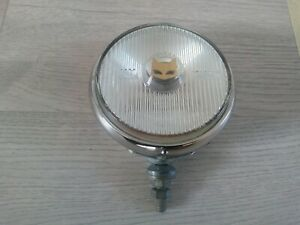 Vintage Oem Chrome Sev Marchal Fog Light Lamp Nos