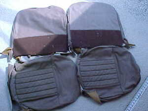 Mgb New 62 68 Leather Seat Cover Kit In Honey Tan