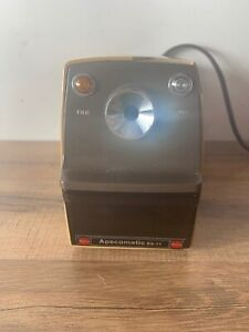 Vintage Apscomatic Es 11 Electric Pencil Sharpener heavy Duty Made In Japan