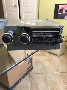 1971 74 Mopar B Body Am Fm Stereo Radio Working With Cassette Pigtail