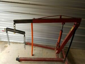 3 Ton Engine Hoist W accessories