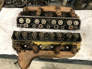 Edc e 6090 Ford Fe Cylinder Heads 352 360 390 427 428 Gt Oem Factory Cnc Ported