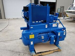 Quincy Qrd 20 Oil free Air Compressor 20 Hp W Desiccant And Smc Idfb15e Dryer
