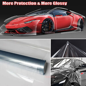 Invisible Scratch Protection Glossy Car Clear Cloth Vinyl Wrap Film Sticker Hdus