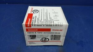 Honeywell V8043 E 1012 Motorized Two position Zone Valve 24v 3 4 Fittings