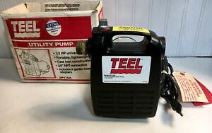 Teel 1 2 Hp Universal Motor Utility Pump 2p110a 3 4 Npt Connection Used Once