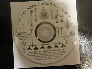 Gas Combo Antique Catalogs Light Sconce Lamp Chandelier Vance Gibson Williamson