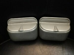 1939 1940 Ford Deluxe Sedan Coupe Rear Ashtray Pair Nice Shape