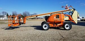 2007 Jlg 600a Boom Man Lift Refurb 2014 Dual Fuel 4x4 Articulating Telescopic