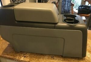 Ford F150 04 08 F 150 Center Floor Console Grey Gray 04 08 Free Shipping